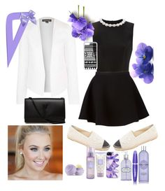 """""""elegant image of the school """" by divine-lisena-o-k ❤ liked on Polyvore featuring mode, Simone Rocha, Neil Barrett, Chanel, Topshop, Yves Saint Laurent, CellPowerCases, Eos, Crabtree & Evelyn et Max Factor"""