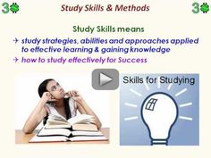 Smart Study Skills & Methods for Student Success Teaching Study Skills, Teaching Strategies, Teaching Ideas, Study Techniques, Study Methods, Counseling Activities, School Counseling, Student Success, Student Life