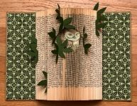 Altered book by Rachael Ashe