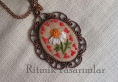 Neckless embroidery neckless brezilya nakisi kolye