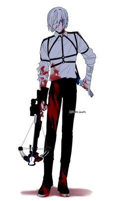 Koon by : delete_breathe Anime Manga, Anime Guys, Manga Boy, Yin Yang, Most Beautiful People, Character Costumes, Touken Ranbu, Webtoon, Cosplay Costumes