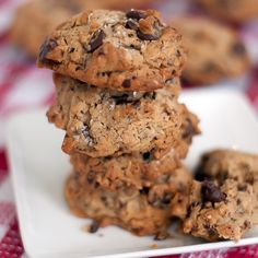 GF Oatmeal Peanut Butter Chocolate Chip Cookies