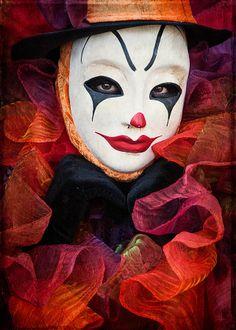 Clown Fancy Photograph  - Clown Fancy Fine Art Print /