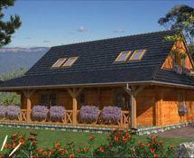 DOM MD1-08 Outdoor Decor, Home Decor, Log Houses, Decoration Home, Interior Design, Home Interior Design, Home Improvement