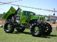 You'll See More of This Style Monster Truck Everywhere Soon!  This Kind is 6000lbs. lighter and Alot Faster!