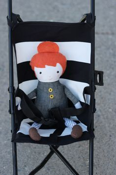 Natalie got a baby doll stroller for Christmas and by Valentine's Day it was trashed. Does that story sound familiar? I am convinced that unless you drop real money on those things, doll stroller seats seem to always be made so cheaply! So, it wasn't really a surprise that it met it's demise so quickly. …