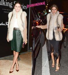 En el primer desfile de Delpozo en Nueva York.Style icon, it-girl, fashionista... Existen mil formas de referirse al estilo de Olivia Palermo, que sigue inspi
