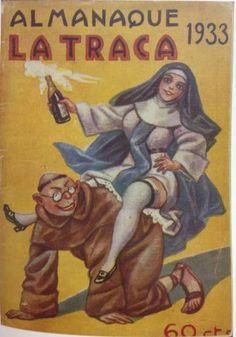 Ilustración del catálogo de 'La Traca, la transgresión como norma', procedente de la colección de Rafael Solaz.
