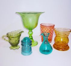 Chels Lynn Blog - glass vases and dishes