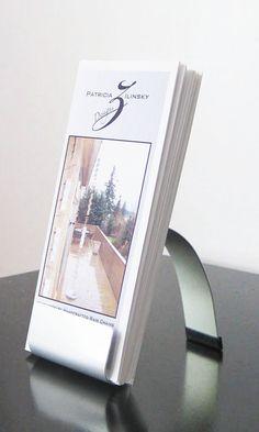 Modern Metal Brochure Holder on Etsy, $45.00