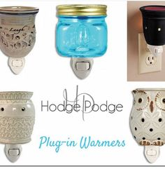 Plug in warmers are great at making your home or office smell wonderful!   http://www.shophodgepodge.com/rep/amandamarie721
