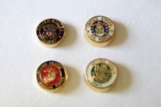 Floating Military Charms to fit any Origami Owl or by bbjewelry, $4.00