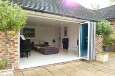 Bi-folding doors kent offer a high quality, high performance option for your property. Customers can visit our showroom in Kent and our friendly staff will be pleased to assist you. Sliding French Doors, French Doors Patio, Patio Doors, Internal Folding Doors, Double Glass Doors, Folding Walls, Best Insulation, Entrance Ways, Open Plan Living