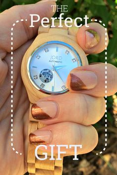 Jord Wood Watch - Timeless Style - The Perfect Gift Everyday Thoughts