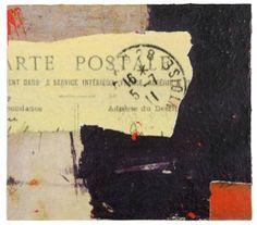 "Saatchi Art Artist Marjorie Guyon; Collage, ""Letters I Have Not Sent #3"" #art"