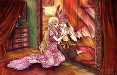 nalu, anime, and fairy tail image