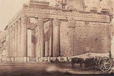 1850/52 circa Anderson James . Tempio di Antonino e Faustina