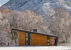 i love me a shed roof.