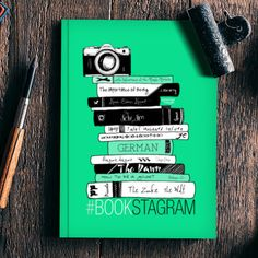 #Bookstagram (Mint!) | #Artist: Aparna Singh #Notebook & more #bookish products available!