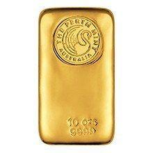 10oz Perth Mint Gold Bullion Bar