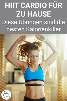 Unser HIIT Cardio Trainingsplan für zuhause eignet sich perfekt für alle, die schnell abnehmen wollen. Sieh dir den Plan für das Ausdauertraining an, der nur Übungen mit dem eigenen Körpergewicht enthält. Fitness Workouts, Cardio Workout At Home, Gewichtsverlust Motivation, Post Workout Food, Workout Videos, Beachbody Workout, Fitness Inspiration, Weekly Workout Schedule, Full Body Weight Workout