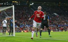 Wayne Rooney comes close
