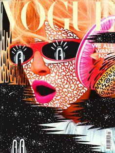 Hattie Stewart x Vogue Magazine #artsyfartsy #doodles