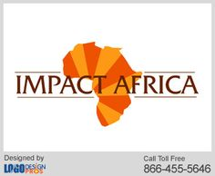 We designed a unique logo design for Impact Africa with 100% satisfaction guarantee