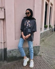 Trendy Fashion Hijab Casual Dresses Muslim Source by clothing Trendy Fashion Hijab Casual Dresses Muslim Source by clothing hijab Trendy fitness style fashion inspiration Ideas when the sun comes out 🌞 Hijab Casual, Hijab Chic, Hijab Elegante, Casual Dress Outfits, Trendy Outfits, Fashion Outfits, Casual Pants, Ootd Hijab, Plad Outfits
