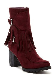 Bucco Jaxsyn Womens Fashion Fringe Boots ** You can get more details by clicking on the image.