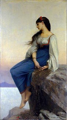 'Graziella' Jules-Joseph Lefebvre, 1878