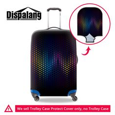 Travel Luggage Protective Cover Apply To 18~30 Inch Case Excellent Elastic Stretch Suitcase Cover Fashion Travel Accessories