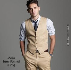 semi casual groom attire - Google Search | VIA #WEDDINGPINS.NET
