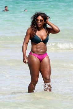 Hmm, so you can have a 6 pack and thick thighs.  #serena