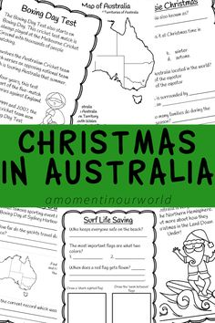 To find out more about how we keep cool and celebrate during the festive season, grab a copy of this Christmas in Australia printable pack. It contains 47 pages, including answers, on the following topics: Preparing for Christmas Christmas Food Boxing Day Test Match Boxing Day Sales Boxing Day Yacht Race Six White Boomers Surf …