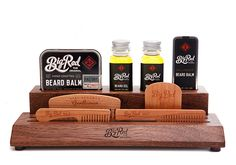 Beard combs and beard care products