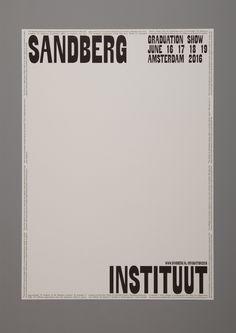 "designeverywhere: "" Sandberg Instituut Graduation Show """