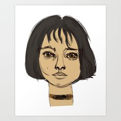 Buy Mathilda Art Print by Ercan Sert. Worldwide shipping available at Society6.com. Just one of millions of high quality products available.