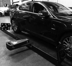 2008 Jaguar XF full tracking set-up Wheel Alignment, Jaguar Xf, Edinburgh, Centre, 3d