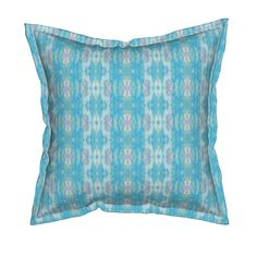 Serama Throw Pillow featuring JEWELED STRIPE 12 by shi_designs | Roostery Home Decor