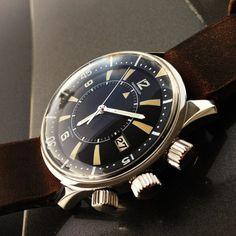 Jaeger LeCoultre Memovox 1968 Tribute to Polaris