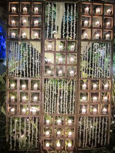 Candles and jasmine decor we arranged at The Taj Westend in Bangalore #TajWestend #WeddingPlanner #IndianWeddings