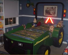 boys tractor bed
