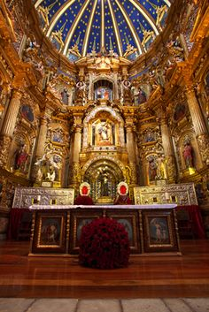 Altar Mayor, Iglesia de San Francisco, Quito - Ecuador