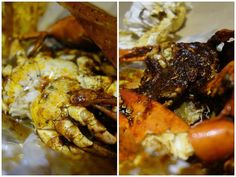 Fantastically fresh meaty crabs at Shell Out in Kota Damansara.