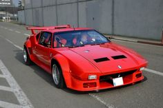 De Tomaso Pantera GT5, I was lucky enough to drive one of these for ten laps at Laguna Seca. Seriously fun car!