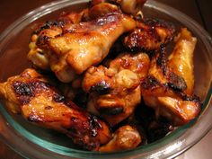Honey Garlic Chicken Wings, perfect for a Paleo friendly football party! {thePaleoMom} #Paleo