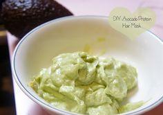 DIY: Homemade Protein Hair Treatment (Egg & Avocado)