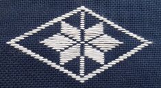 Kogin embroidery