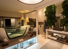 Divulgação Relaxation Room, Relaxing Room, Spa Rooms, Flat Screen, House, Instagram, Bathrooms, Toilet Room, Architectural Firm